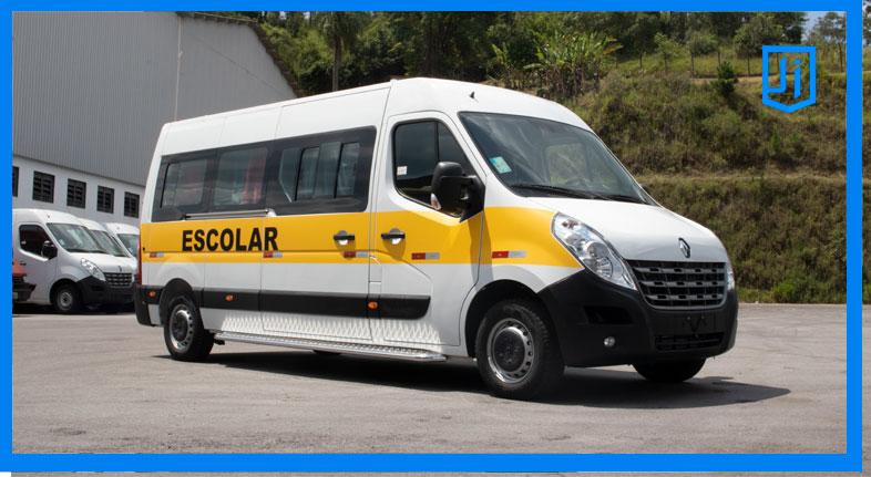 Transformações de Vans para Escolar