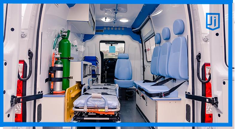 Transformações de Vans em Ambulâncias