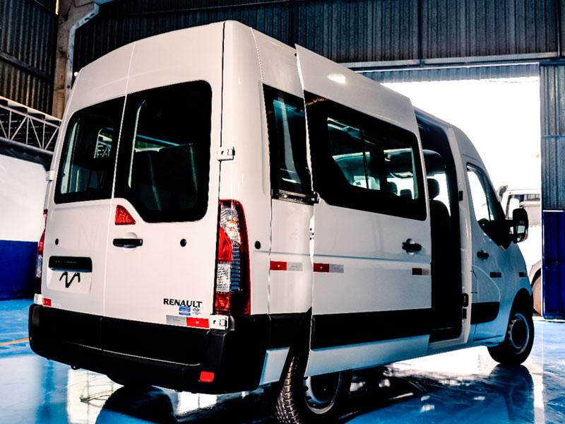 Transformação De Vans para Passageiros